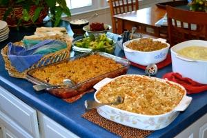 3). Vegetarian Thanksgiving