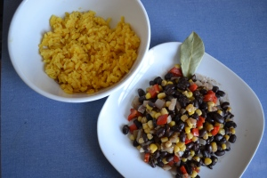 5). Spiced Beans and Rice