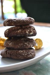 16). Rolo Crinkle Cookies