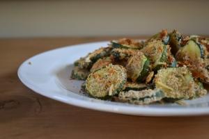 4). Parmesan Zucchini Chips