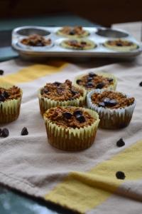 13). Baked Pumpkin Oatmeal Cups