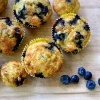 Blueberry Orange Muffins