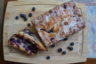 Lemon-Blueberry Yogurt Bread