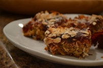 8. Vegan Strawberry Oat Bars