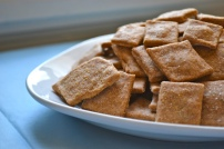 7. Homemade Wheat Thins