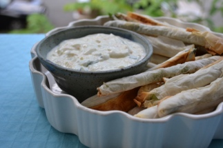 Filo-Wrapped Asparagus (with Two Dipping Sauces!)