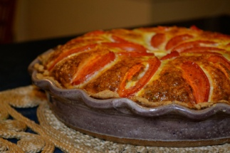 Fresh Vegetable Quiche with Homemade Pie Crust