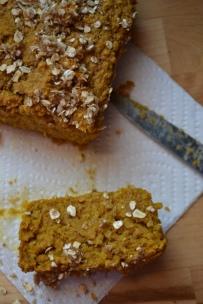 16. Vegan Pumpkin Oat Bread