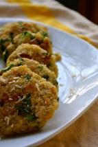 Quinoa and Parmesan Kale Patties