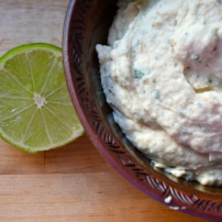 White Bean Hummus with Lime, Parsley, and Cilantro