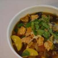 Black Bean Fajita Soup