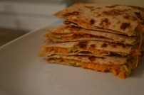 Sweet Potato and Goat Cheese Quesadillas