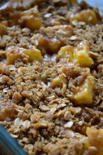Pineapple Brown Sugar Crisp