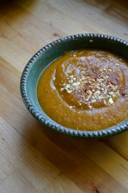 Homemade Roasted Butternut Squash Soup