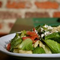 Tortellini Salad with Balsamic Vinaigrette Dressing