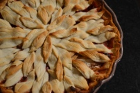 Homemade Cranberry Apple Pie