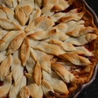 Homemade Cranberry Apple Pie