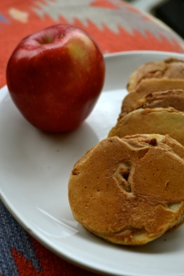 Cinnamon Apple Pancake Rings