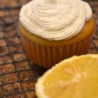 Vegan Lemon Cupcakes with Buttercream Frosting