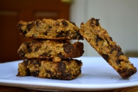 GF Pumpkin Chocolate Granola Bars
