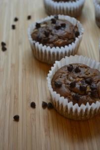 GF Chocolate Zucchini Muffins
