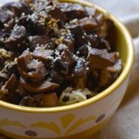 Garlic Parmesan Mushrooms