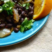 Chipotle Orange Black Beans