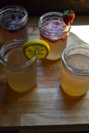 Homemade Ginger Ale and Variations
