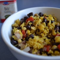 Spiced Rice and Beans