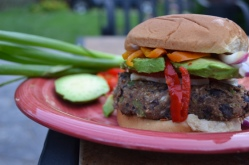 Homemade Black Bean Burger