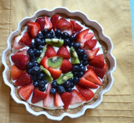 Fresh Fruit Dessert Tart