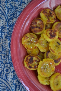 Fried Plantains: Sweet and Salty!
