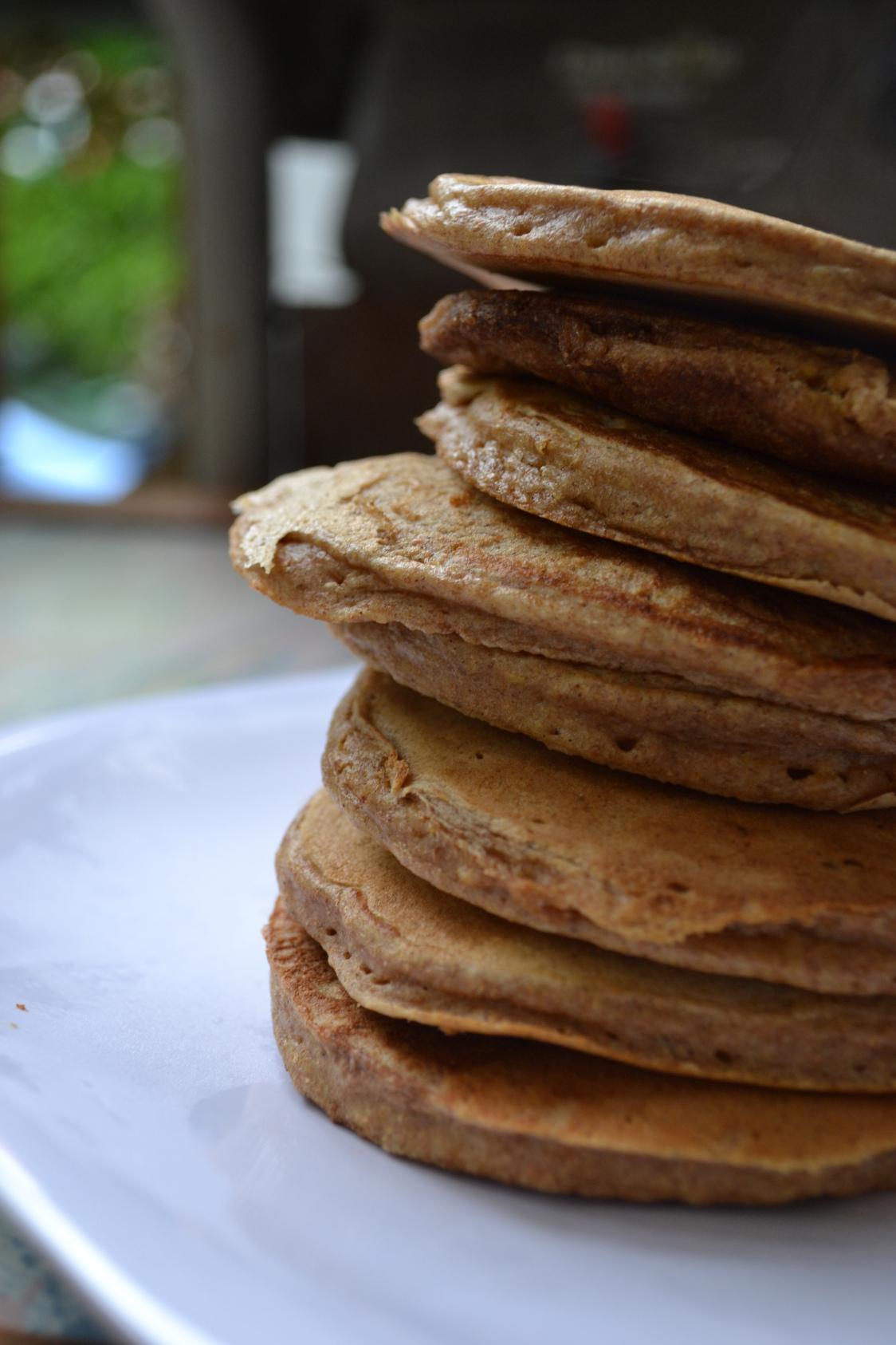 Sweet Potato Chocolate Chip Pancakes – a rented kitchen