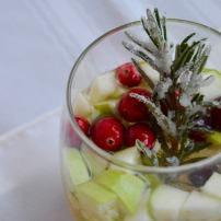 Holiday White Wine Sangria