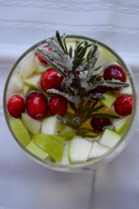 Holiday White Wine Sangria
