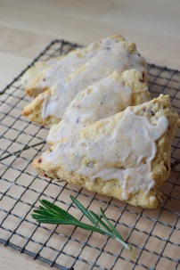 Christmas Morning Scones (AKA Vanilla Bean, Cranberry and Rosemary Scones)
