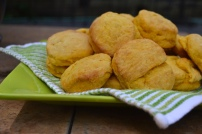 Sweet Potato Biscuits with Maple Butter